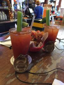 bloody marys after rattlesnake ramble
