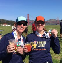 presidio 10 miler finish